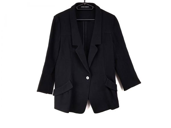 HIROKO KOSHINO(ヒロココシノ) ジャケット サイズ40 M レディース美品  黒