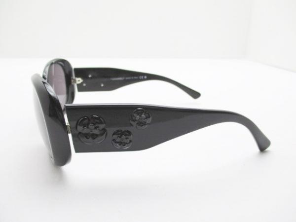 CHANEL(シャネル) サングラス 5113 黒 カメリア プラスチック