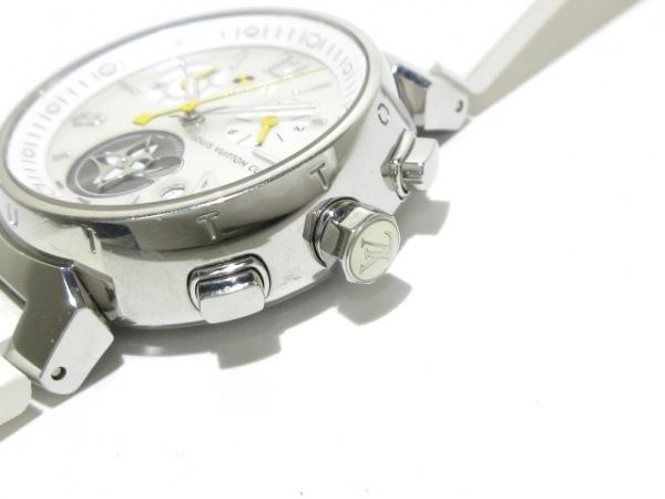ヴィトン 腕時計美品  タンブールクロノ ラブリーカップ Q132C/Q132C2 レディース