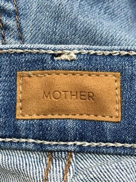 mother(マザー) ジーンズ サイズ26 S レディース ブルー ダメージ加工