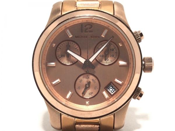 マイケルコース 腕時計 MK-5430 レディース クロノグラフ ピンクゴールド