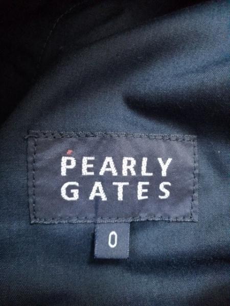 PEARLY GATES(パーリーゲイツ) パンツ サイズ0 XS レディース ネイビー 刺繍
