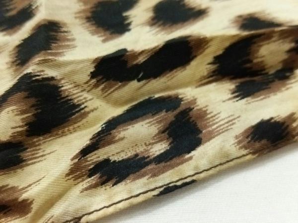 MUVEIL(ミュベール) スカーフ美品  ブラウン×アイボリー×マルチ 豹柄