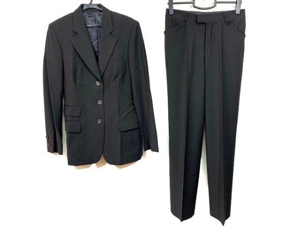 GUCCI(グッチ) レディースパンツスーツ サイズ40 M レディース 黒 肩パッド