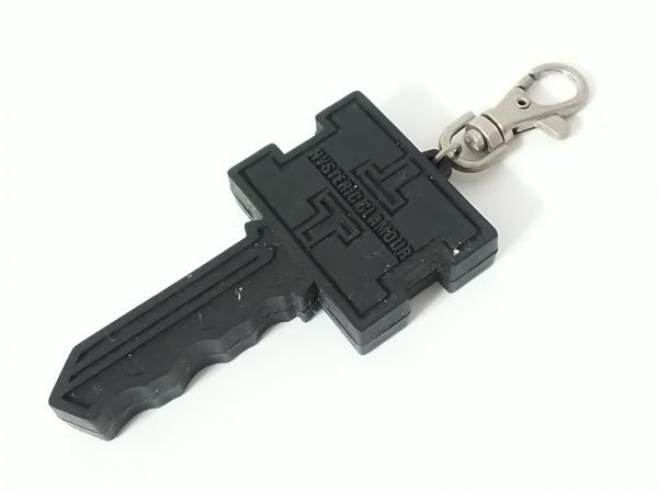 HYSTERIC GLAMOUR(ヒステリックグラマー) キーホルダー(チャーム) 黒 鍵 ラバー