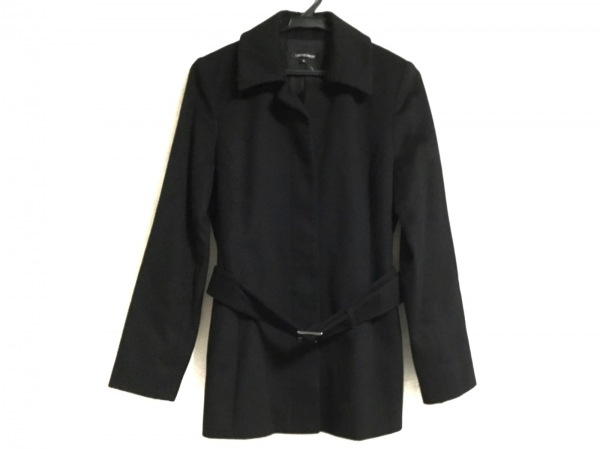 LAUTREAMONT(ロートレアモン) コート サイズ2 M レディース美品  黒 冬物