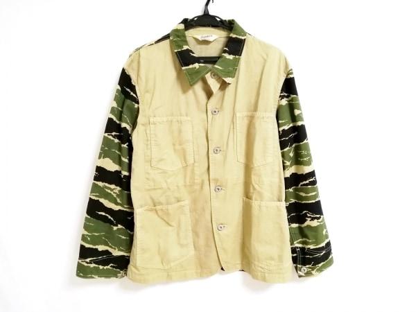 TENDERLOIN(テンダーロイン) ジャケット サイズM メンズ カーキ×グリーン×黒 迷彩柄