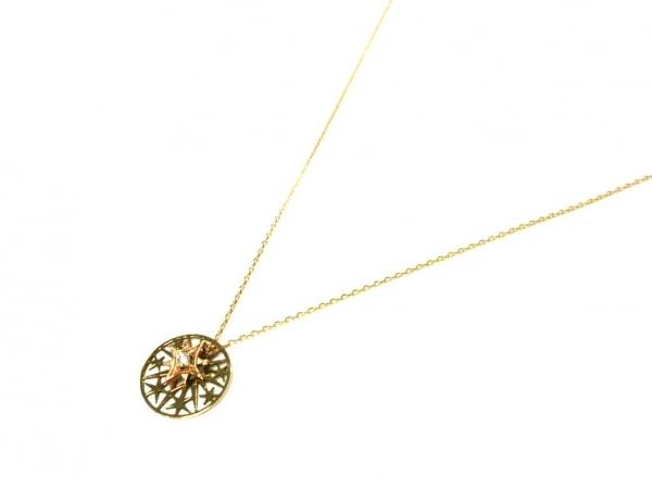 スタージュエリー ネックレス美品  K10×ダイヤモンド スター/0.02カラット
