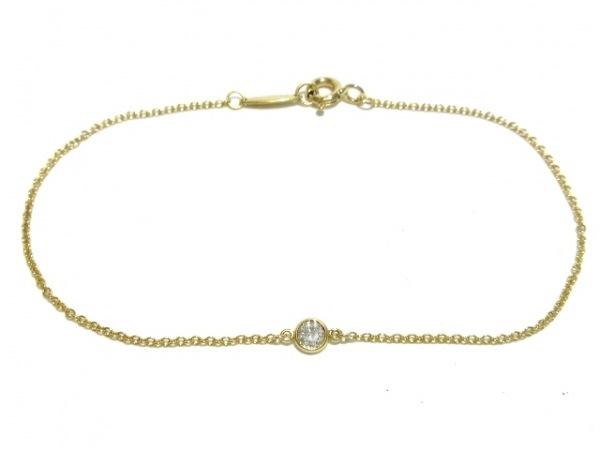 TIFFANY&Co.(ティファニー) ブレスレット美品  バイザヤード K18YG×ダイヤモンド