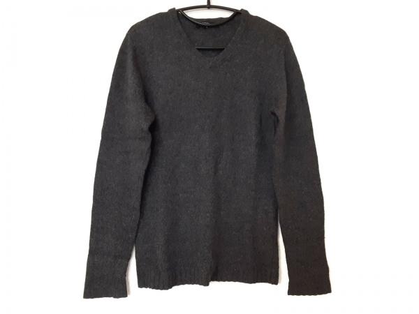 5351 PourLesHomme(5351プールオム) 長袖セーター サイズ3 L メンズ ダークグレー