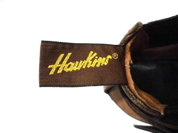 Hawkins(ホーキンス) シューズ 6 レディース ブラウン×ダークブラウン レザー