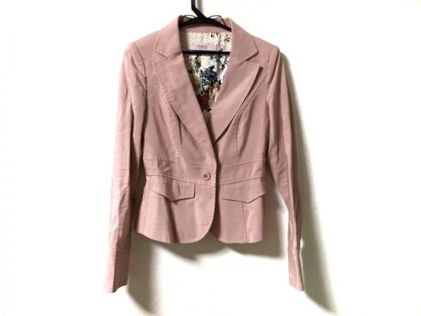 R.E.D VALENTINO(バレンチノ) ジャケット サイズ42 L レディース美品  ピンク