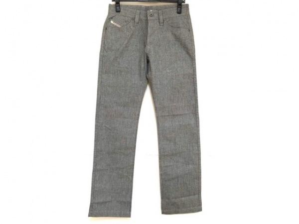 DIESEL(ディーゼル) パンツ サイズ28 メンズ新品同様  ライトグレー