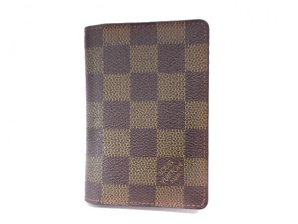 ルイヴィトン カードケース ダミエ オーガナイザー・ドゥ・ポッシュ N61721 エベヌ