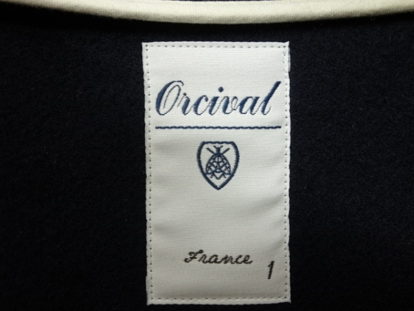 ORCIVAL(オーシバル) ダッフルコート サイズ1 S レディース美品  ダークネイビー 冬物
