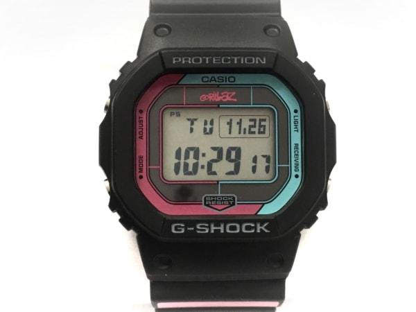 CASIO(カシオ) 腕時計美品  Gorillaz × G-SHOCK GW-B5600GZ-1JR ボーイズ