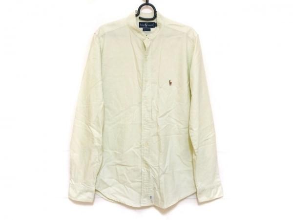 RalphLauren(ラルフローレン) 長袖シャツ サイズ16-36 メンズ ライトグリーン