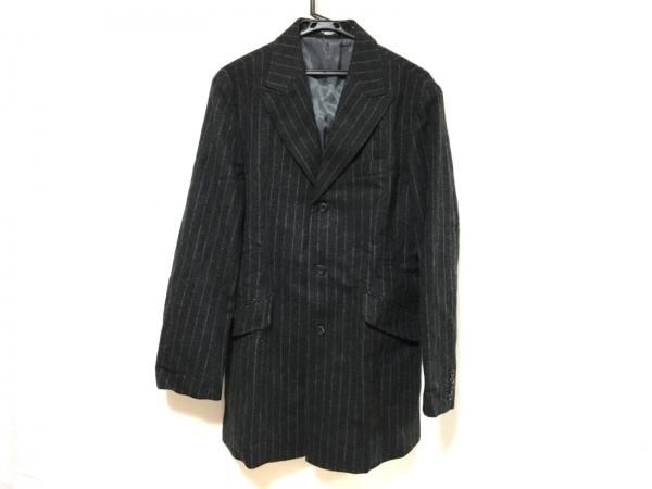 TORNADO MART(トルネードマート) コート メンズ 黒×グレー 冬物