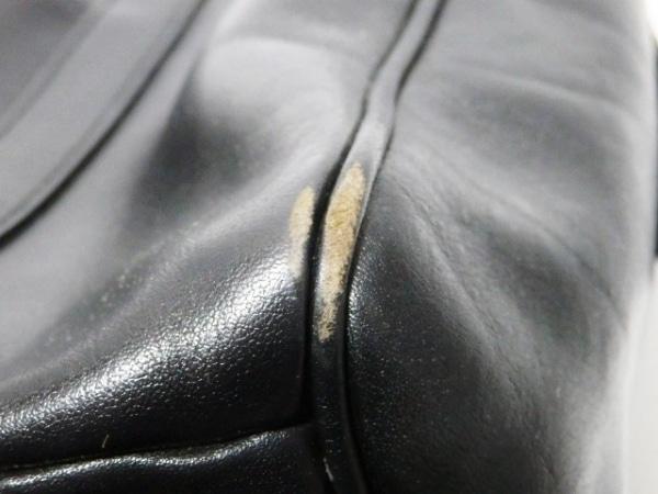 GOLD PFEIL(ゴールドファイル) ハンドバッグ 黒 レザー