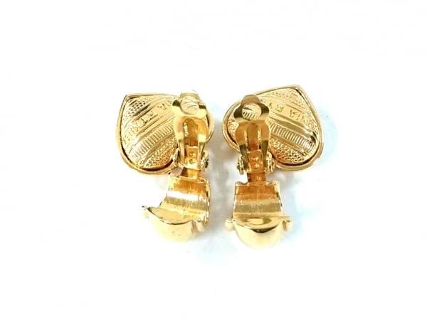 SONIARYKIEL(ソニアリキエル) イヤリング美品  金属素材 ゴールド ハート