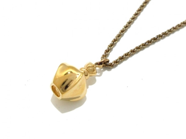 ChristianDior(クリスチャンディオール) ネックレス 金属素材 ゴールド 香水瓶