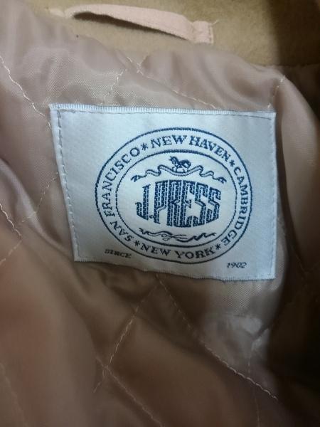 J.PRESS(ジェイプレス) コート レディース ベージュ 肩パッド/冬物