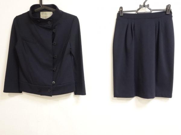 レジィーナロマンティコ スカートスーツ サイズ36 S レディース ダークネイビー