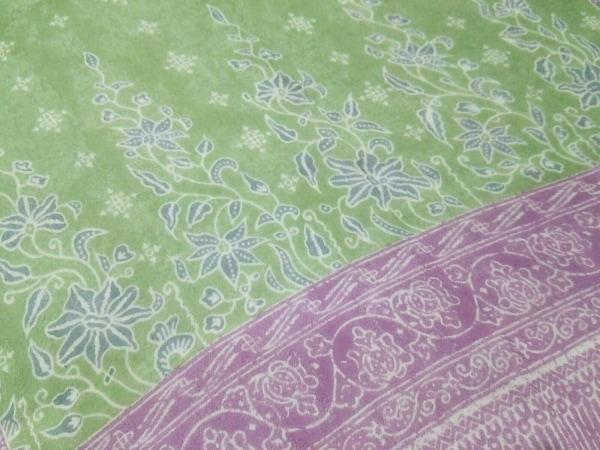 ETRO(エトロ) スカーフ美品  ライトグリーン×パープル×マルチ