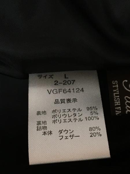 Tiaclasse(ティアクラッセ) ダウンジャケット サイズL レディース 黒 冬物