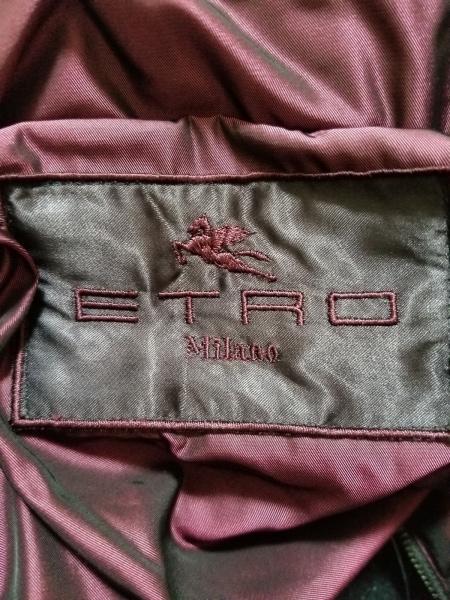 ETRO(エトロ) ダウンジャケット サイズ46 S メンズ ボルドー 冬物