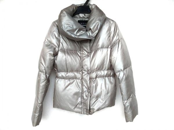 INDIVI(インディビ) ダウンジャケット サイズ5 XS レディース シルバー 冬物