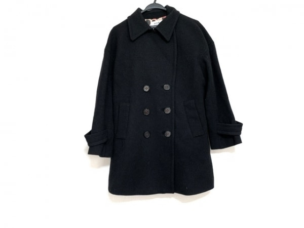 SONIARYKIEL(ソニアリキエル) コート サイズ46 XL レディース美品  黒 冬物