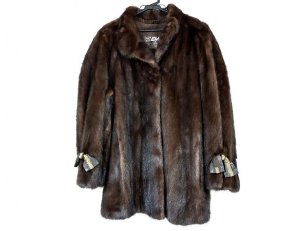 EMBA(エンバ) コート サイズ13 L レディース ダークブラウン 冬物