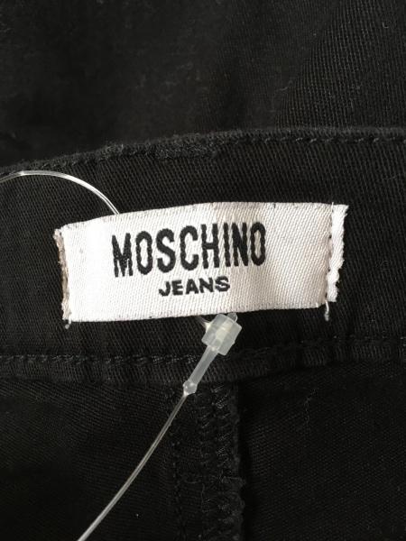 モスキーノ パンツ サイズ27 M レディース美品  黒 刺繍/ペイズリー柄/カットワーク