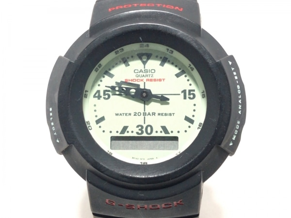 CASIO(カシオ) 腕時計 G-SHOCK AW-500 メンズ ラバーベルト ライトグリーン