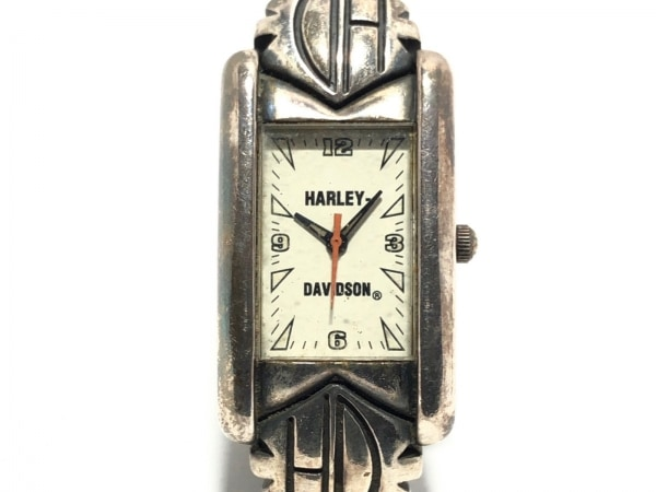 HARLEY DAVIDSON(ハーレーダビッドソン) 腕時計 メンズ 白