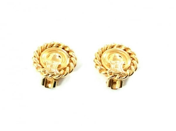 CELINE(セリーヌ) イヤリング美品  金属素材 ゴールド