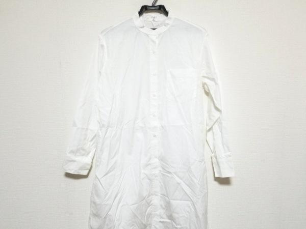 23区(ニジュウサンク) ワンピース サイズ38 M レディース美品  白 SLOW/シャツワンピ