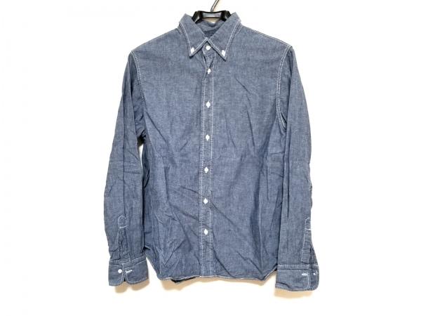 Drawer(ドゥロワー) 長袖シャツ サイズ40 M レディース美品  ブルー