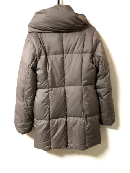 クリアインプレッション ダウンコート サイズ2 M レディース グレージュ 冬物