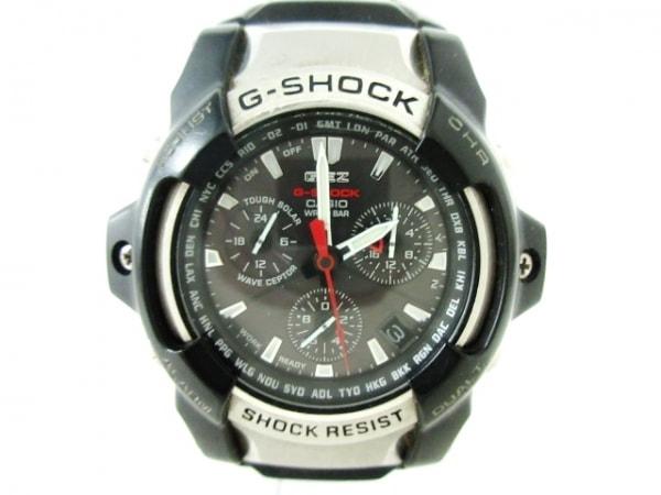 CASIO(カシオ) 腕時計 G-SHOCK GS-1000J メンズ ラバーベルト 黒