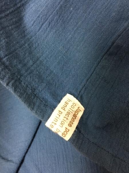SOU・SOU(ソウソウ) 半袖カットソー レディース ブルー×白×マルチ 市松柄/楊柳