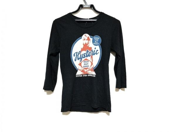 ヒステリックグラマー 長袖Tシャツ サイズF レディース美品  黒×グレー×マルチ
