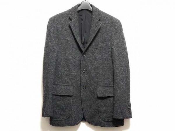 J.PRESS(ジェイプレス) ジャケット サイズM メンズ ダークグレー ネーム刺繍
