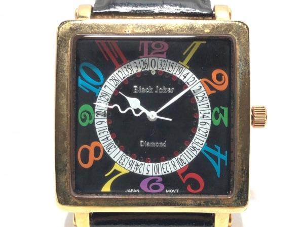 Black Joker(ブラックジョーカー) 腕時計 - レディース 黒