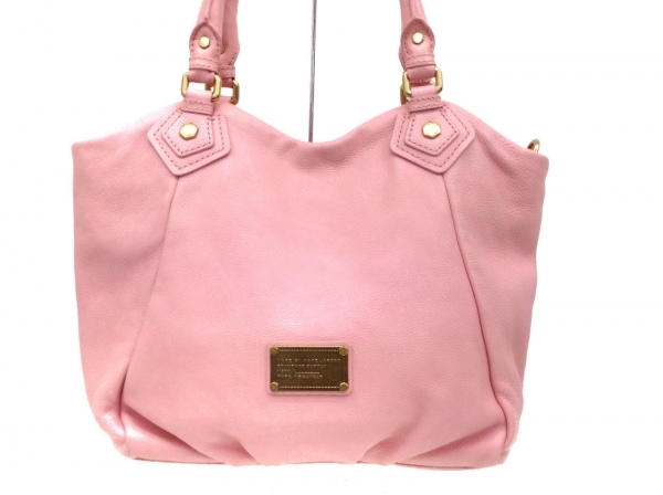MARC BY MARC JACOBS(マークバイマークジェイコブス) トートバッグ - ピンク レザー