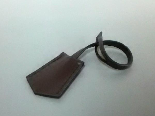 ルイヴィトン 小物新品同様  ダークブラウン クロシェット(鍵2つ付き) レザー
