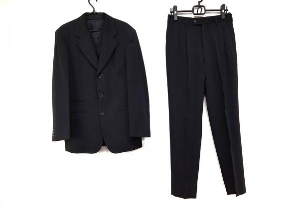 COMME CA DU MODE MEN(コムサデモードメン) シングルスーツ サイズ2 M メンズ 黒