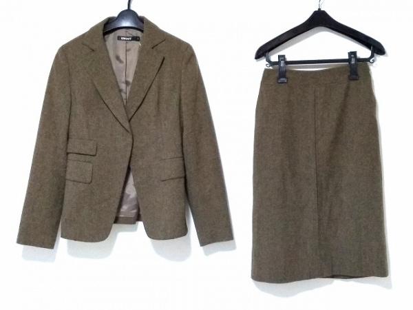 DKNY(ダナキャラン) スカートスーツ サイズ2 M レディース カーキ