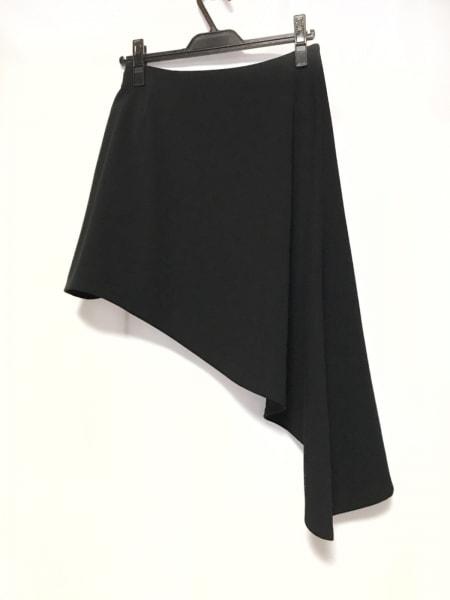 LE CIEL BLEU(ルシェルブルー) スカート サイズ40 M レディース美品  黒 変形デザイン